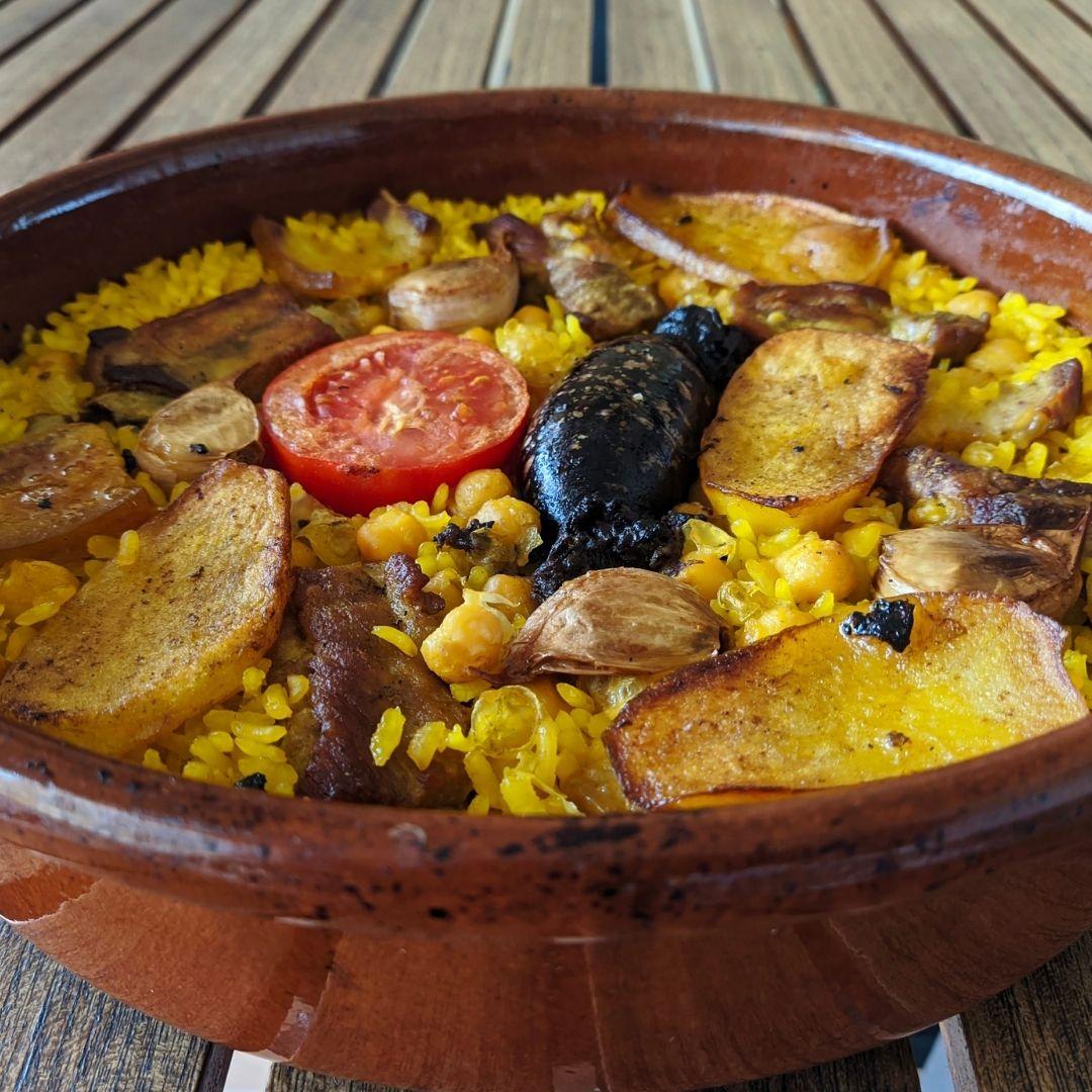 receta arroz al horno valenciano